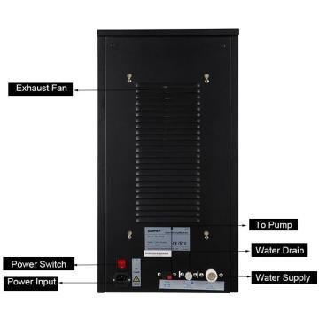 Кнопка Sapoe Press и сенсорный экран Полностью автоматическая кофе-машина Sc-71104 a