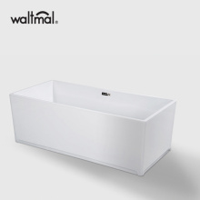 Modern Square Acrylic Freestanding Bathtub cUPC approved