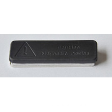 Neodymium Magnetic Badge Holder Iman Plastificado De Neodimio 45X13mm