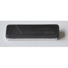 Suporte de crachá magnético de neodímio Iman Plastificado De Neodimio 45X13mm