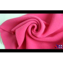 150D 280 gsm knitted polar fleece fabric