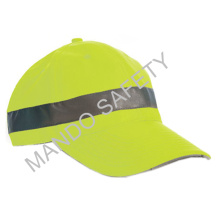 Reflective Fitted Snapback Bicycle Cycling Cap for Safe