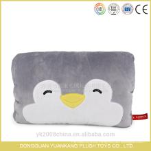 Los animales de peluche dan almohadas más cálidas con la impresión