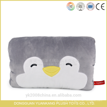 Plush animals hand warmer pillows with printing
