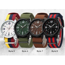 Yxl-863 Sport Watches Men Luxury Brand Nylon Strap Men Army Military Wristwatches Clock Male Quartz Watch Relogio Masculino 2016