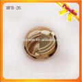 MFB26 Пользовательские металл металлический хвостовик кнопки 2.3cm золотого цвета цинкового сплава металлическая кнопка с гальваническим покрытием