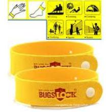 Mückenschutz-Handgelenk-Knöchel-Band-Abwehrmittel-Faser-Armband