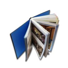 Impression de livre personnalisée polychrome de couverture dure
