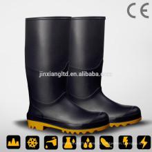 JX-992BLK ПВХ защитные сапоги дождя