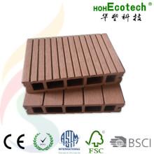 Decking al aire libre compuesto plástico de madera de 150 * 30m m para el veranda y el patio