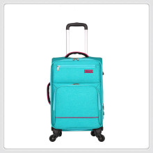Customize color 1680D Oxford Soft Nylon fabirc luggage