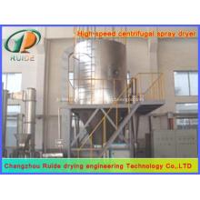 Séchoir à pulvériser centrifuge centrifuge à chaud à chaud pour le polyéthylène