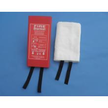 Manta de fuego portátil de fibra de vidrio de 1.5mx2m