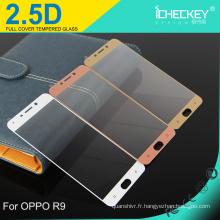 Icheckey accessoires de téléphone protecteur d'écran mobile pour OPPO R9