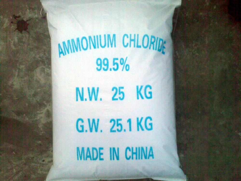 Hot sale Colorless cubic crystal Ammonium Chloride