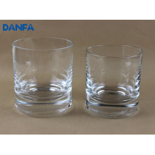 270ml & 360ml Mouth Blown Drinking Glass