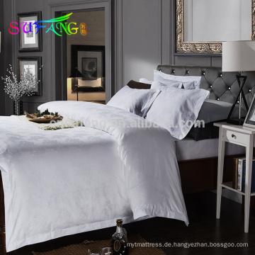 2018 Hotel Bettwäsche / 400TC weiß Hotel Bettwäsche Hotel Bettwäsche ägyptische Baumwolle