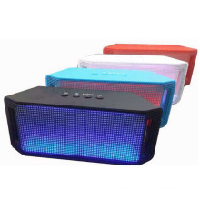 Portable Bluetooth Wireless Speaker with LED Light
