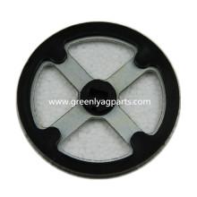 AA37221 Rorating Scraper Wheel mit Nylonabdeckung für John Deere Pflanzgefäß