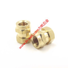 Brass Moulded-in Threaded Insert Nuts