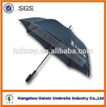 Helle Farbe Auto Aluminium Rahmen gerade Regenschirm