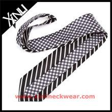 Cravate réversible en soie pour cravate mode homme