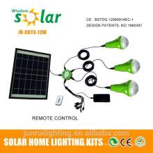 LED Солнечный фонарь с аккумуляторной батареи & USB порт для мобильных зарядное устройство