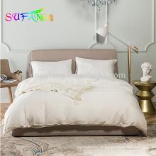 OEKO-Tex Factory luxo de seda macia de bambu 300TC jogo de cama na rainha, king size
