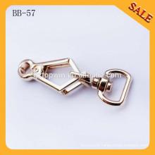 BB57 Eco-friendly new metal shoulder strap parts trigger swivel hook for bag strap