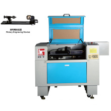 CO2 Laser Cutting and Engraving Machine with Rotary Device on Working Table