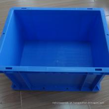 Recipiente de plástico empilhável