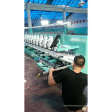 Machine de broderie à grande vitesse à 10 têtes 9 aiguilles YueHONG