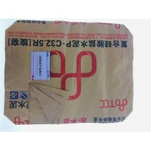 Трехслойная нижняя сумка из крафт-бумаги