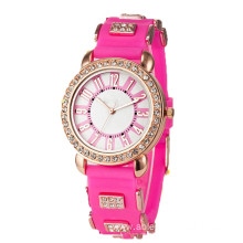 The New Fashion Women Silicone Watches(liyuting)