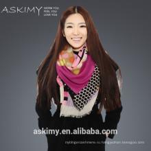 Пользовательский дизайн шерстяной шарф