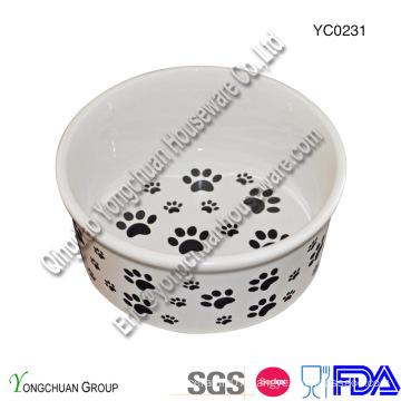 Ceramic Big Pet Bowl for Wholesale