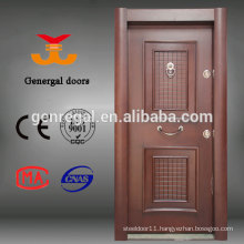 House room Luxury armor entry steel core wood door
