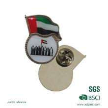 Pin de lapela nacional da bandeira dos Emirados Árabes Unidos da lembrança para o presente