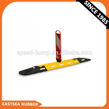 Road Safety  Plastic Recovery Panel Rubber Lane Separator