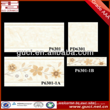 Backsteinmauerende dekorative keramische Bildfliesen für billige Wandfliese