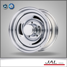 Popular Design Cheap Chrome Trailer Wheel Car Wheel Rim with 3 Blades