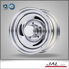 Popular Design Roda de reboque Chrome barato Roda de roda de carro com 3 lâminas