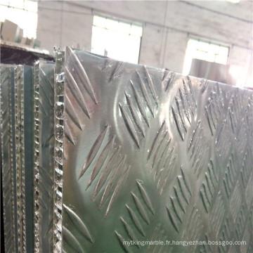 Panneaux en nid d'abeille sans glissement de 15 mm pour plancher
