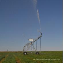 Sistema de irrigação do pivô central da roda d'água