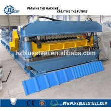 Double Deck Steel Roof Sheet Moulding Machine, Galvanized Wall And Roof Sheet Roll Forming Machine Price