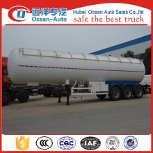 China Proveedor de 3 ejes de acero LPG Gas Trailer para la venta