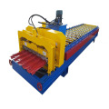 new type corrugated glazed tile step roof roll forming machine