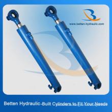 Cilindro hidráulico de dirección simple hidráulica para el tractor
