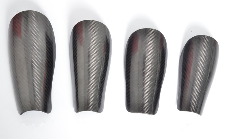 carbon fiber knee guard size_