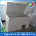 PVC Cabinet Foam Sheet for House Building (Density: 0.5 and 0.55g/cm3)
